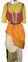 Renaissance Country Peasant Costume, Size 12-14 Medium