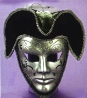 VENETIAN MASK FULL with HAT