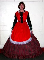 Skirt Overapron for 1860 Costume Size XSM - SM