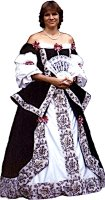 Seventeenth Century Lady Costume, Size 12 Medium
