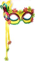 HIPPIE PEACE MASQUERADE MASK