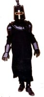 Medieval Man - Knight Costume, Size Most, Black