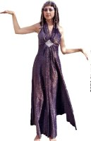 Cleopatra Costume, Navy, Size 5 Small