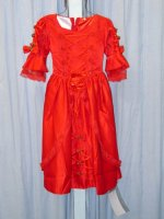 Colonial Girls Dress, size 5 - 6