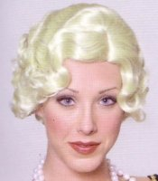ROARING TWENTIES FINGERWAVE WIG - Blonde