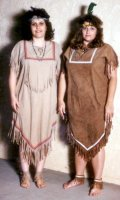 Indian Maiden Costume, Size Small - Medium