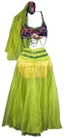 Belly Dancer Costume Size Medium - Large