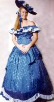 Southern Belle Costume, Size 18