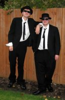 Blues Brothers Costume Size 42S