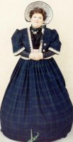 Southern Belle - Winter Dickens Costume Size 18 LG