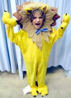 Lion Child Costume Rental Size 6 - 8