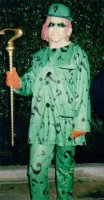 Riddler Costume Size MD