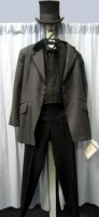 "Frock Coat Suit, Chest 44"" Long Medium"