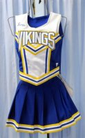 Cheerleader Costume, Size SM-MD