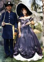 Southern Antebellum Costume, Size 9-11 SM-MD, Navy