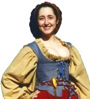 RENAISSANCE BODICE with WINGS & PICADILLS