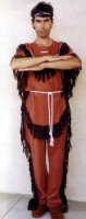 Indian Brave Costume Size Small - Large