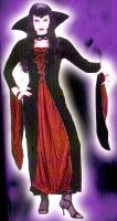 VAMPIRESS COSTUME - VELOUR Standard