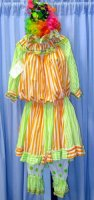 Clown Costume Size SM-LG