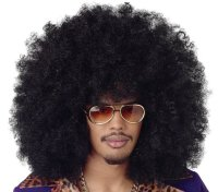 AFRO WIG - SUPER JUMBO - Black, Brown