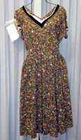 Nineteen Fifties Costume, Size 12 - 14 Medium, Black
