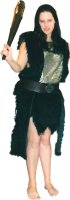 Barbarian Fur Woman Costume, Size Medium - XLarge