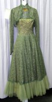 Nineteen Fifties Afternoon - Evening Costume Size SM - MD