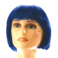CHINA DOLL WIG - Short - Midnight Blue