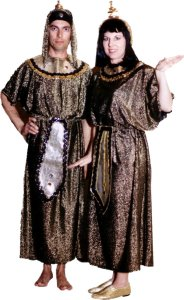 Egyptian Cleopatra Costume, Size Most