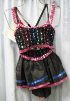 2 piece Jazz Dance Costume, Size Child 6 - 8