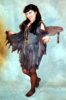 Death Fairy Costume, Size 6 - 8