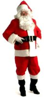 Santa Claus Costume Size XLG #7532