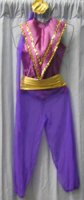 Harem Girl Child Costume Rental, Size Child 4 - 5