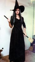 Witch Costume, Size 12 - 14 MD