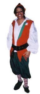 Elf Costume, size extra large - triple X