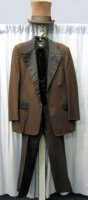Frock Coat Jacket Chest 44 Long Medium