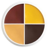 CONTOUR WHEEL MAKEUP - BROWN