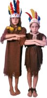 Indian Girl Child Costume Size CH 8-10