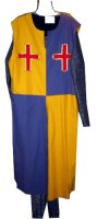 Medieval Man Costume, 56 XXL, Parti-colored