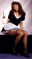 French Maid Costume Size 5-7 SM
