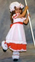 Little Bo Peep Child Costume, Size Ch 3 - 4