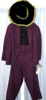 Purple Suit / Pimp Costume Size 40 - 42
