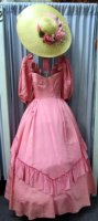 Southern Belle Costume, Size 5 SM Pink