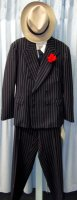 Gangster Costume Size 42 SM-MD #3301
