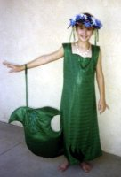 Mermaid Child Costume Size Ch 12-14