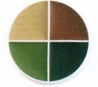CAMOUFLAGE WHEEL MAKEUP - 4 color