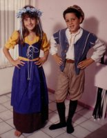 Renaissance Peasant Child Costume, Size 8-10