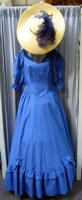 Southern Belle Costume, Size 12 MD, Blue