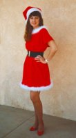Santa's Helper Costume, Size SM - MD #7528