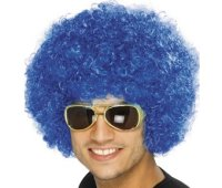 CLOWN WIG - DISCOUNT - Blue